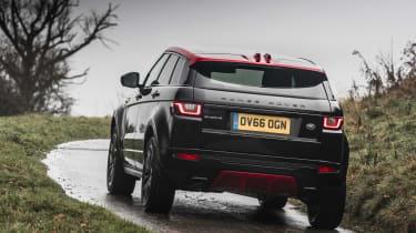Range Rover Evoque Ember - rear cornering