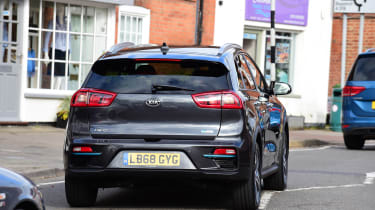 Kia e-Niro long termer - first report rear action