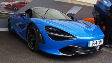 McLaren 720S - Goodwood front