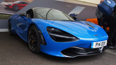McLaren 720S - Goodwood front