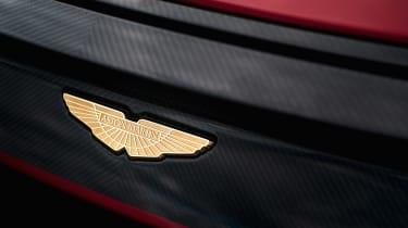 Aston Martin DBS GT Zagato - Aston badge