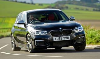 BMW M140i - front cornering