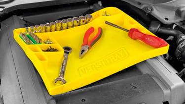 Versitray flexible tool tray