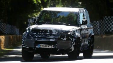 Land Rover Defender - Goodwood run 2019