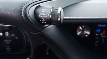 Lexus LS 500h - controls
