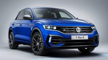 Volkswagen T-Roc R - front studio