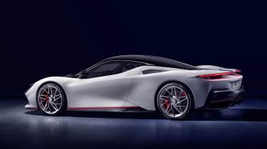 Pininfarina Battista - side/rear