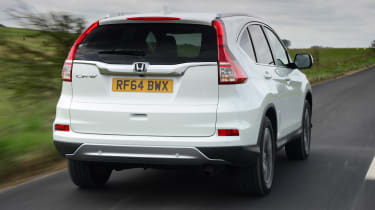 Used Honda CR-V Mk4 - rear tracking