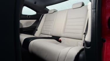 Lexus RC 300h 2016 - rear seats