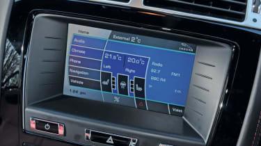 Jaguar XKR display
