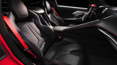 Chevrolet Corvette - seats
