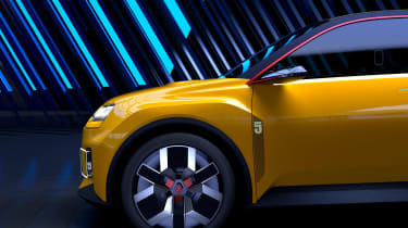Renault 5 EV concept - side detail
