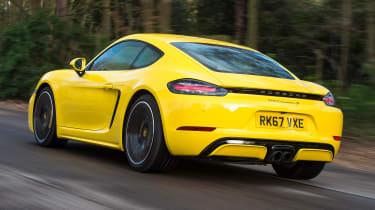 Porsche Cayman - rear