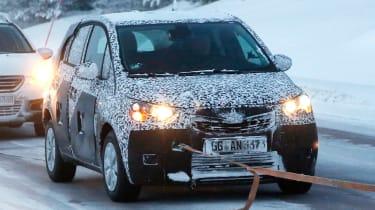 Opel Meriva 2017 front