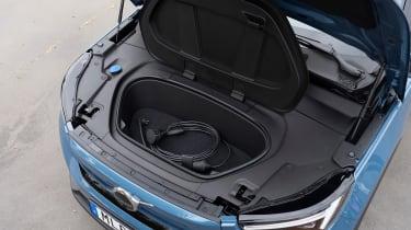 Volvo C40 Recharge - front storage