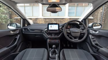Ford Fiesta Trend - interior