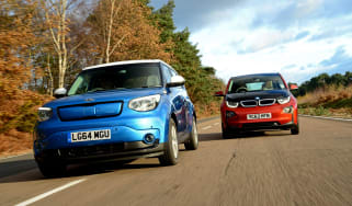 Kia Soul vs BMw i3