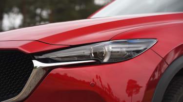 Mazda CX-5 SUV - headlight