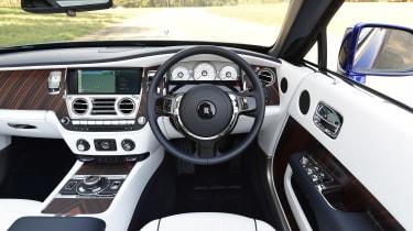 Convertible megatest - Rolls-Royce Dawn - interior