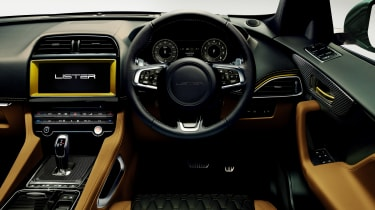 Lister LFP - steering wheel