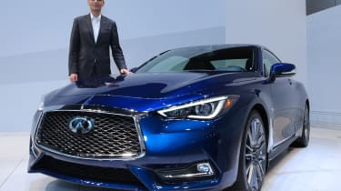 Future of Infiniti - blue q60