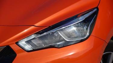 Nissan Micra - front light