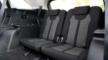 Kia Sorento - rear seats