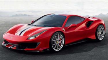 Ferrari Pista leak - front