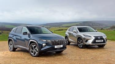 Hyundai Tucson vs Lexus NX