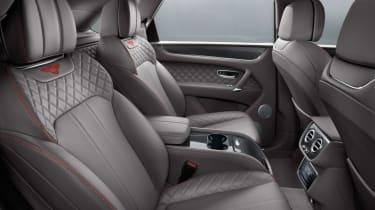 Bentley Bentayga V8 petrol announced - rear interior