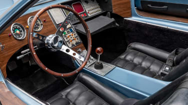 Petersen Automotive Museum  - AMT Piranha U.N.C.L.E - interior
