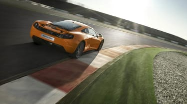 McLaren MP4-12C review rear