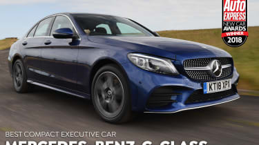 Mercedes C-Class - 2018 Executive Car of the Year
