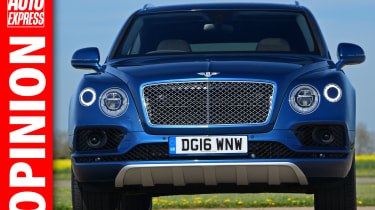 Opinion: Bentley bentayga