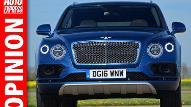Opinion: Bentley bentayga