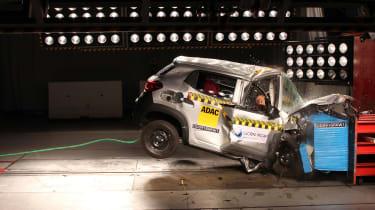 Renault KWID I crash test