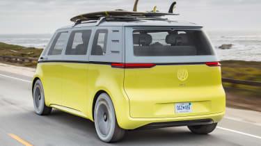 Volkswagen I.D. Buzz concept review - rear
