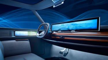 Honda Urban EV concept - dash