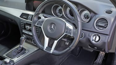 Used Mercedes C-Class - steering wheel