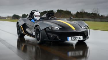 Zenos E10 review - front tracking
