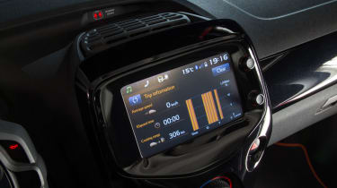 New Toyota Aygo screen