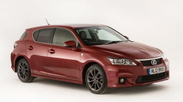 Used Lexus CT 200h - front