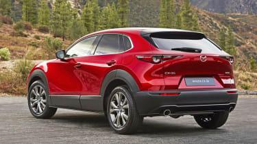 Mazda CX-30 rear quarter