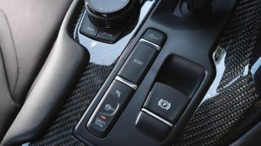 Toyota Supra - interior detail