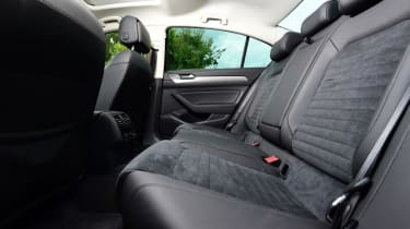 Used Volkswagen Passat - rear seats