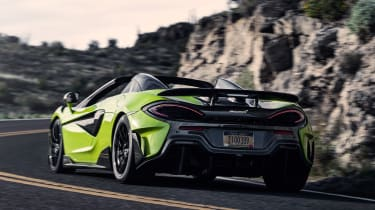 McLaren 600LT Spider - rear