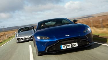 Aston Martin Vantage vs Porsche 911 GTS - head-to-head