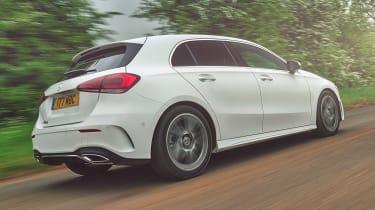 Mercedes A 180 d - rear action