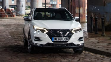 Nissan Qashqai 1.3 DiG-T - front action