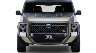 New Toyota Tj Cruiser concept - front grille